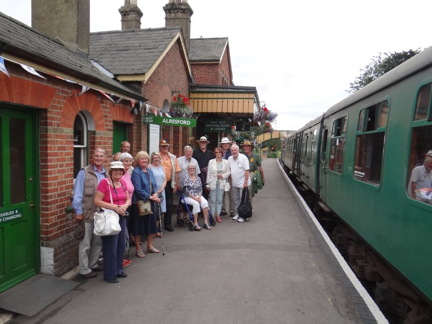 Watercress Line Visit - 28 July 2019