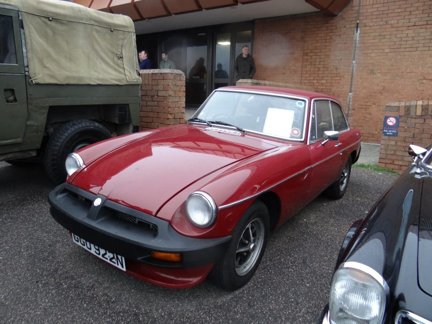 For Sale - 1974 MGB GT