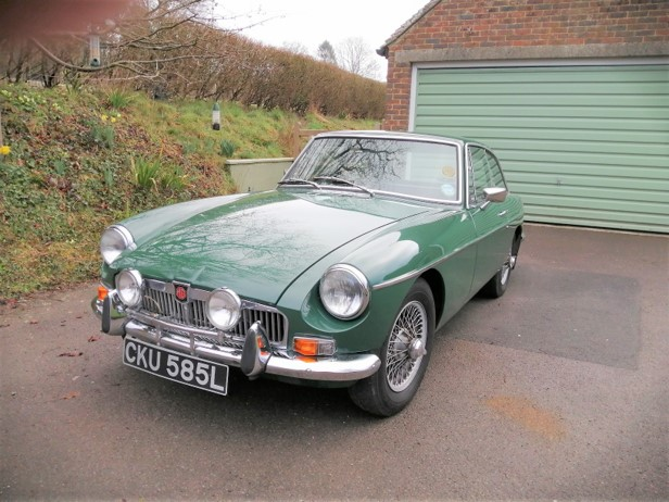 FOR SALE 1973 MGB GT