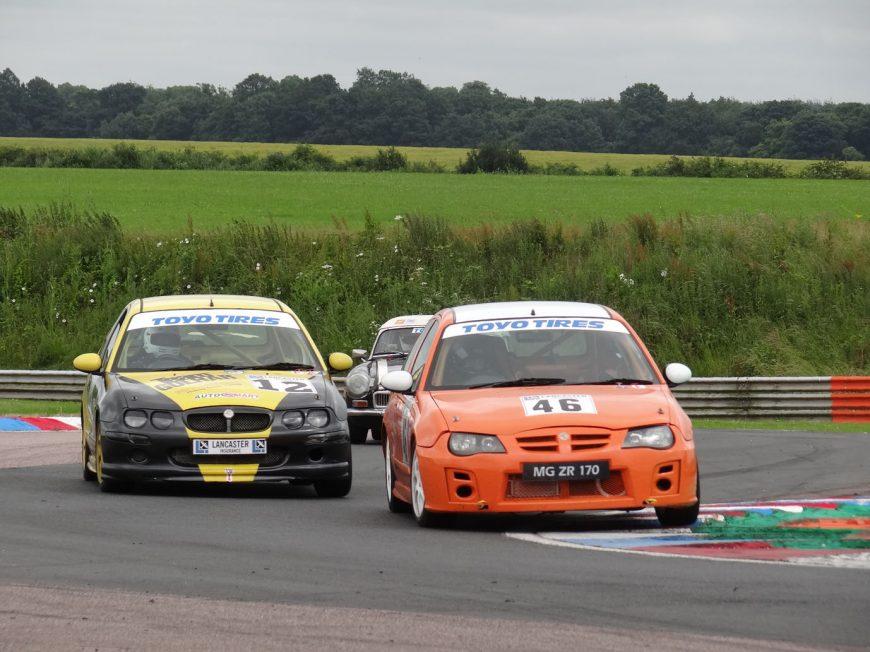 MG Racing at Thruxton